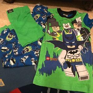 3 piece Lego DC Super Hero Pajama set